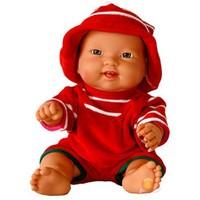 Abc Senoş Kel Kadife Kırmızı Bebek