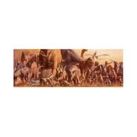 Ricordi Puzzle The Dinosaurs,Haruo Takino (1000 Parça, Panorama)