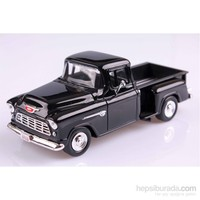 Motomax 1955 Chevy 5100 Stepside 1/24 Die Cast Model Araç