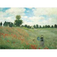 Ricordi Puzzle Les coquelicots, Monet (1000 Parça)