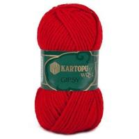 Kartopu Gipsy Kırmızı El Örgü İpi - K150