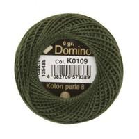 Coats Domino 8Gr Yeşil No: 8 Nakış İpliği - K0109