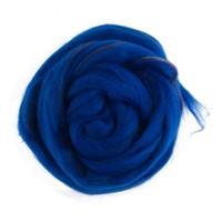 Gazzal Felt Wool Lurex Mavi Ebruli Yün Keçe - 6007