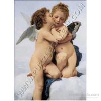 The Frist Kiss, W.Bouguereau (1000 Parça)