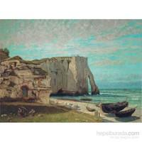 Costa Di Etrat Dopo La Tempesta,Courbet(1000 Parça