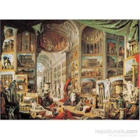 Galleria Con Vedute Di Roma Antica,Pannini(1000 Pa