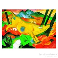 The Yellow Cow, Franz Marc (1000 Parça)