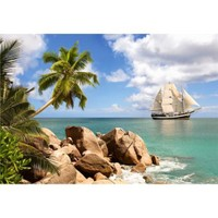 Castorland 1500 Parça Puzzle Sailing in Paradise
