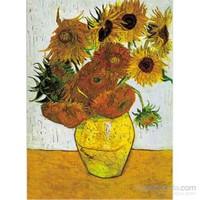 Sunflowers, Van Gogh (1500 Parça Puzzle)