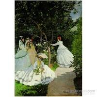 Femmes Au Jardin, Monet (1500 Parça Puzzle)