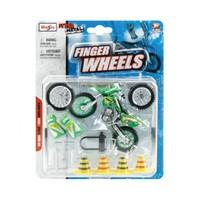 Maisto Off-Road Oyuncak Motorsiklet Finger Wheels Fresh Metal