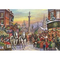 Jumbo Christmas Carriage (1000 Parça)