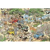 Jumbo Safari - Jan Van Haasteren (3000 Parça)