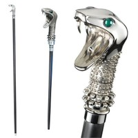 Noble Collection Harry Potter Lucius Malfoy Walking Stick Baston