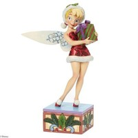 Disney Traditions Enesco Holiday Wishes Tinkerbell