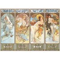 Ricordi Puzzle The Four Season 1895,Alphonse Mucha (1500 Parça)