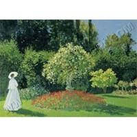 Ricordi Puzzle The woman in the garden, Monet (1500 Parça)