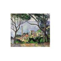 Ricordi Puzzle Vue de L estaque 1878,Cezanne (2000 Parça)