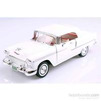 Motormax 1955 Chevy Bel Air -Beyaz 1:18 Model Otomobil