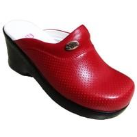 Sabo Dolgu Topuk Hemşire Ve Doktor Terliği K701 Kırmızı