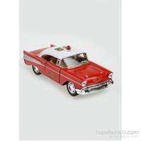 Kinsmart 1957 Chevrolet Bel Air Çek Bırak 1/40 Die Cast Model Araç