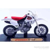 Diecast Honda Xr400r 1/18 Die Cast Model Motorsiklet
