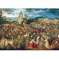 Trefl 1000 Parça Puzzle - Çarmıha Gidiş Alayı (Bruegel)