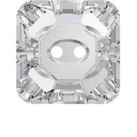 Zirkon 1 Adet Kare Kristal Düğme - 3017