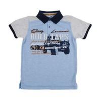 Zeyland Erkek Çocuk Mavi Polo Yaka Tshirt K-51M503edh52