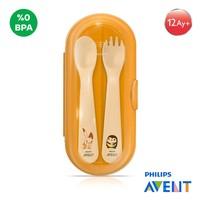 Philips Avent SCF718/00 Kutulu Çatal ve kaşık seti 12ay+