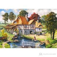 Castorland 2000 Parça Puzzle Water Mill Cottage