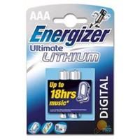 Energizer (B2-2629) Ultimate Lityum AAA İnce Kalem Pil 2Li Blister