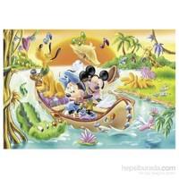 Mickey Mouse (24 Parça, Çift Taraflı Yapboz)