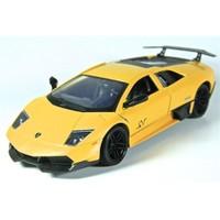 Motormax 1:24 Lamborghini Murcielago Lp 670-4 Sv -Sarı Model Araba
