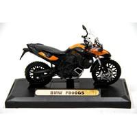 Bmw F800gs Virago 1:18 Turuncu Motorsiklet (Motormax)