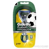 Gillette Fusion ProGlide Tıraş Makinesi Yedekli Dünya Kupası Özel Tasarım