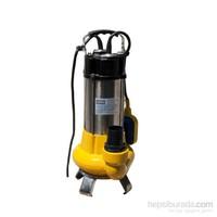 Attlas V1100S-F Döküm Gövdeli 1,5 Hp Bıçaklı Atık Su Pompası