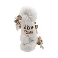 Diva Line Girls Beyaz Bebek Yünü