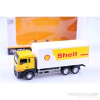 Shell Man Tgs 1/64 Çek Bırak Die Cast Model Araç