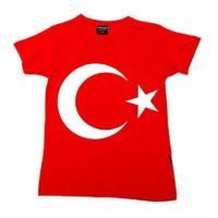 Köstebek Ay Yıldız T-Shirt