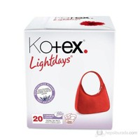 Kotex Lightdays Lavender 20'li