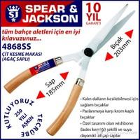 Spear And Jackson 4868Ss Çit Makası Ağaç Saplı