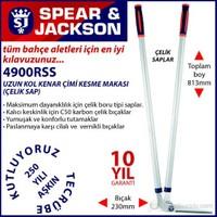 Spear And Jackson 4900Rss Uzun Kol Kenar Çimi Kesme Makası Çeilk Saplı