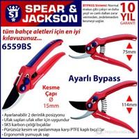 Spear And Jackson 6559Bs Budama Makası Profesyonel Bypass Ve Ayarlı Sap