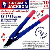 Spear And Jackson 8215Rs Profesyonel Dal Budama Makası Bypass Ve Dişli Sistem Hafif