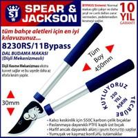Spear And Jackson 8230Rs11 Profesyonel Dal Budama Makası Bypass Ve Dişli Sistem Mini