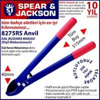Spear And Jackson 8275Rs Profesyonel Dal Budama Makası Anvil Ve Dişli Sistem Hafif