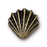 Tierra Cast Metal 1 Adet 13.25X13.5 Mm Altın Rengi Deniz Kabuğu Boncuk - 94-5679-27