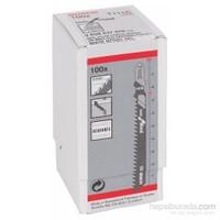 Bosch - Ekonomik Seri Ahşap İçin T 111 C Dekupaj Testeresi Bıçağı - 100'Lü Paket