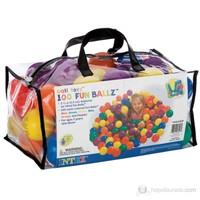 İntex 100'Lü & Çantalı Rengarenk Oyun & Havuz Topları